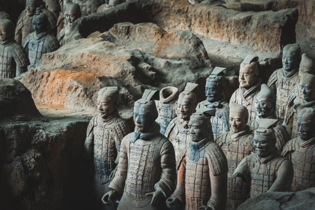 Xi'an - The Terracotta Warriors Museum: Part 1 (Pit 1+Pit 3)