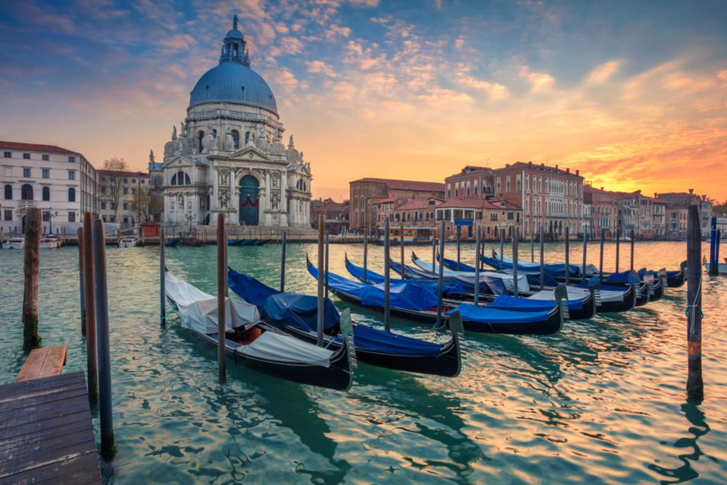 Venice - Grand Canal - View from a Vaporetto