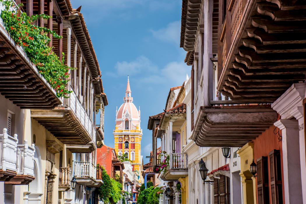 Cartagena - Cartagena Walled City: A Caribbean Jewel.