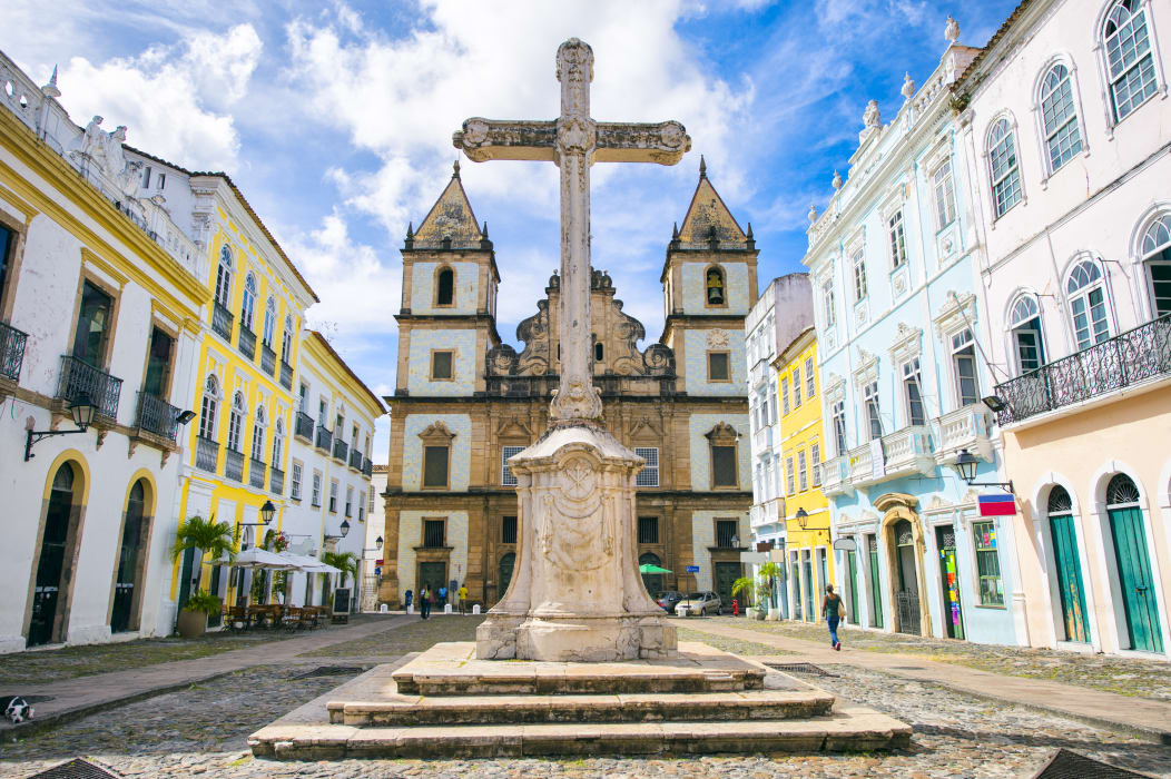 Salvador Bahia - Salvador 3: The First Cathedral of Brazil Demolished? History behind Catholic Church in Brazil