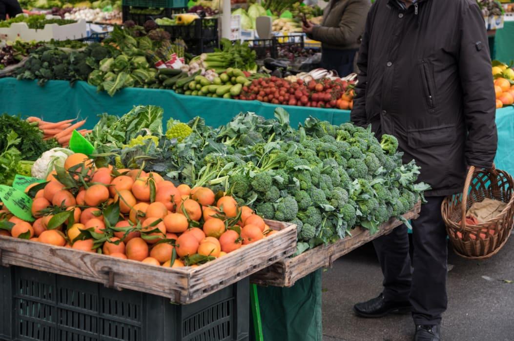 Ljubljana - It's Lunchtime: Ljubljana Farmer's Market