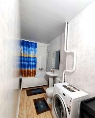 2-к квартира, 68 м², 1/9 эт.