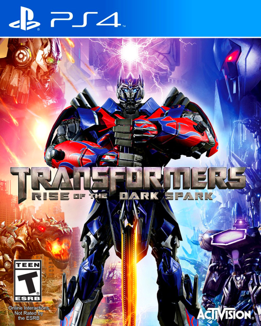 Sony Games For Ps4 : Transformers rise of the dark spark sony playstation