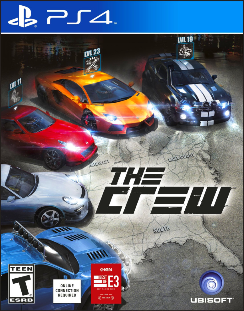 the crew playstation 4 car games ps4 video games new free shipping original ebay. Black Bedroom Furniture Sets. Home Design Ideas