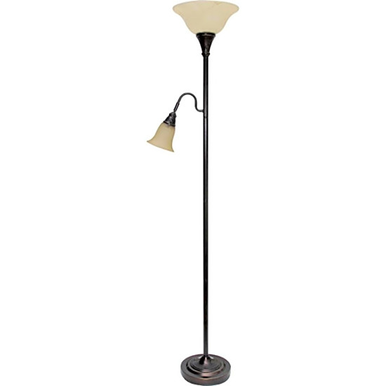 Better Homes And Gardens Floor Lamp Combo Bronze Light