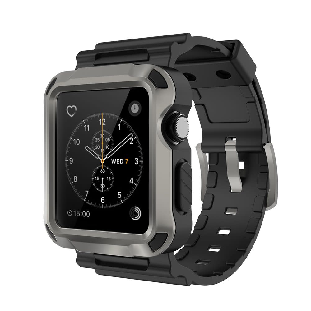 apple nike watch series 2. apple watch iwatch case sport band strap 42mm series 1 2 rugged protectiv nike
