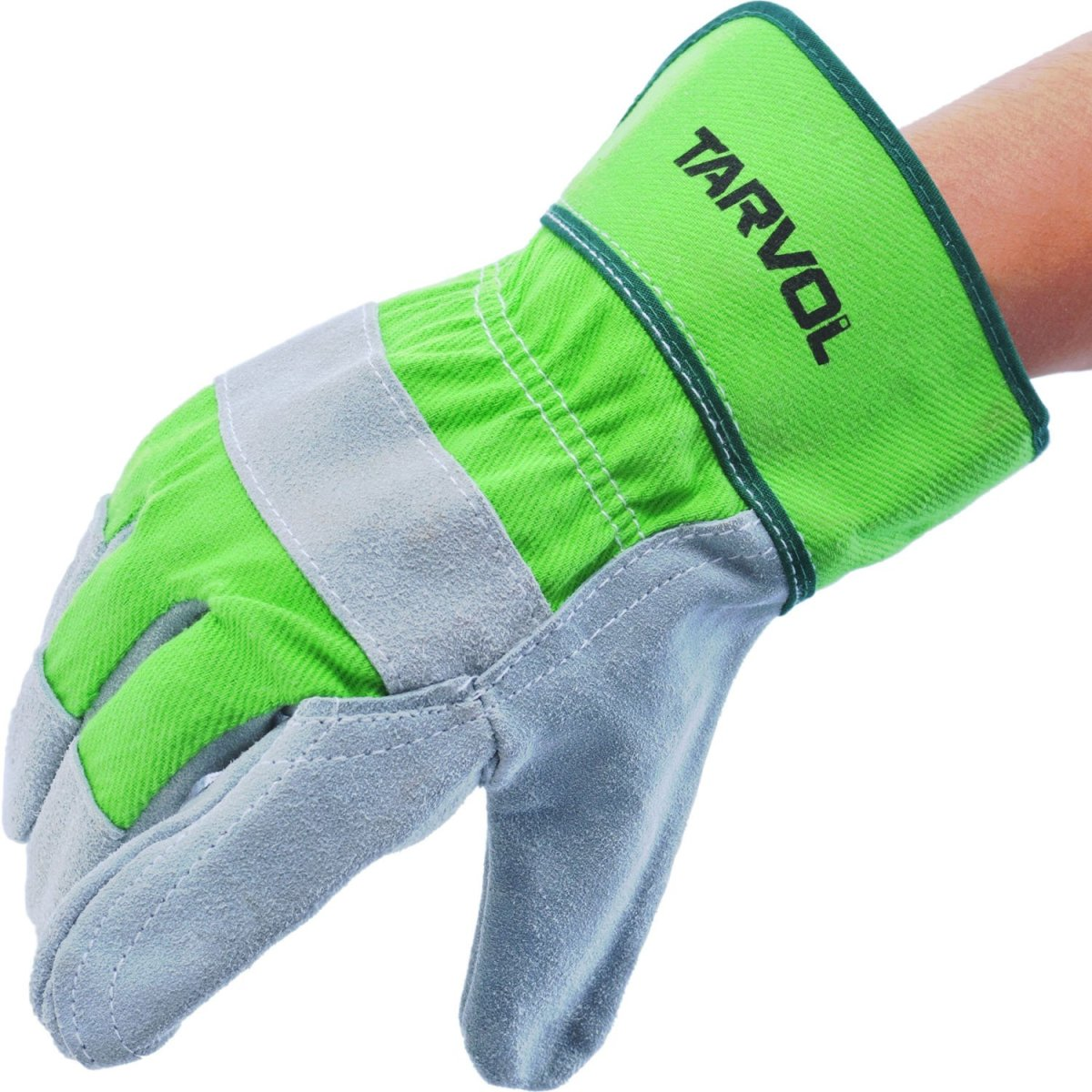 Leather Work Garden Gloves Heavy Duty Industrial Safety Gardening Men Women NEW