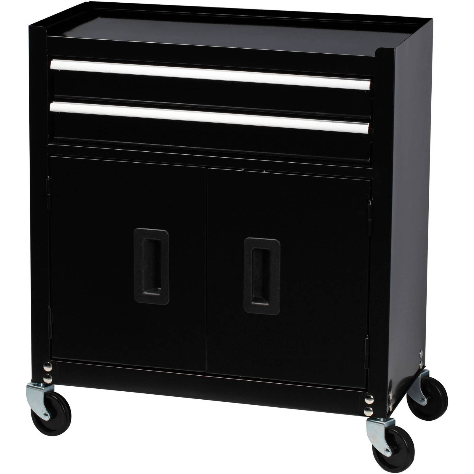 Original Black Stanley 5 Drawer Tool Chest Cabinet Combo with Bi ...