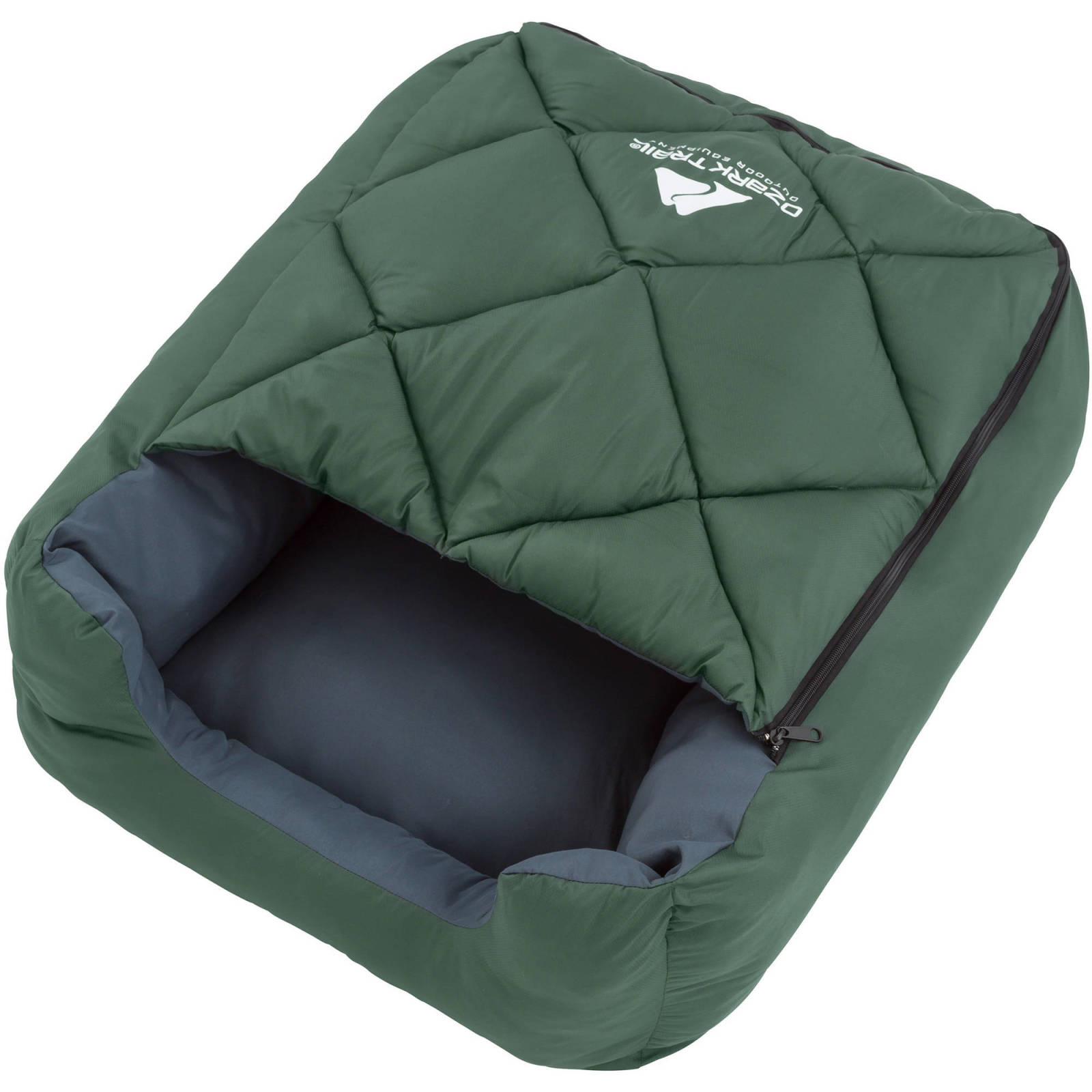 Dog Sleeping Bag Pet Soft Bed Cushion Pillow Camping To 25 Lbs Puppy Ozark Trail