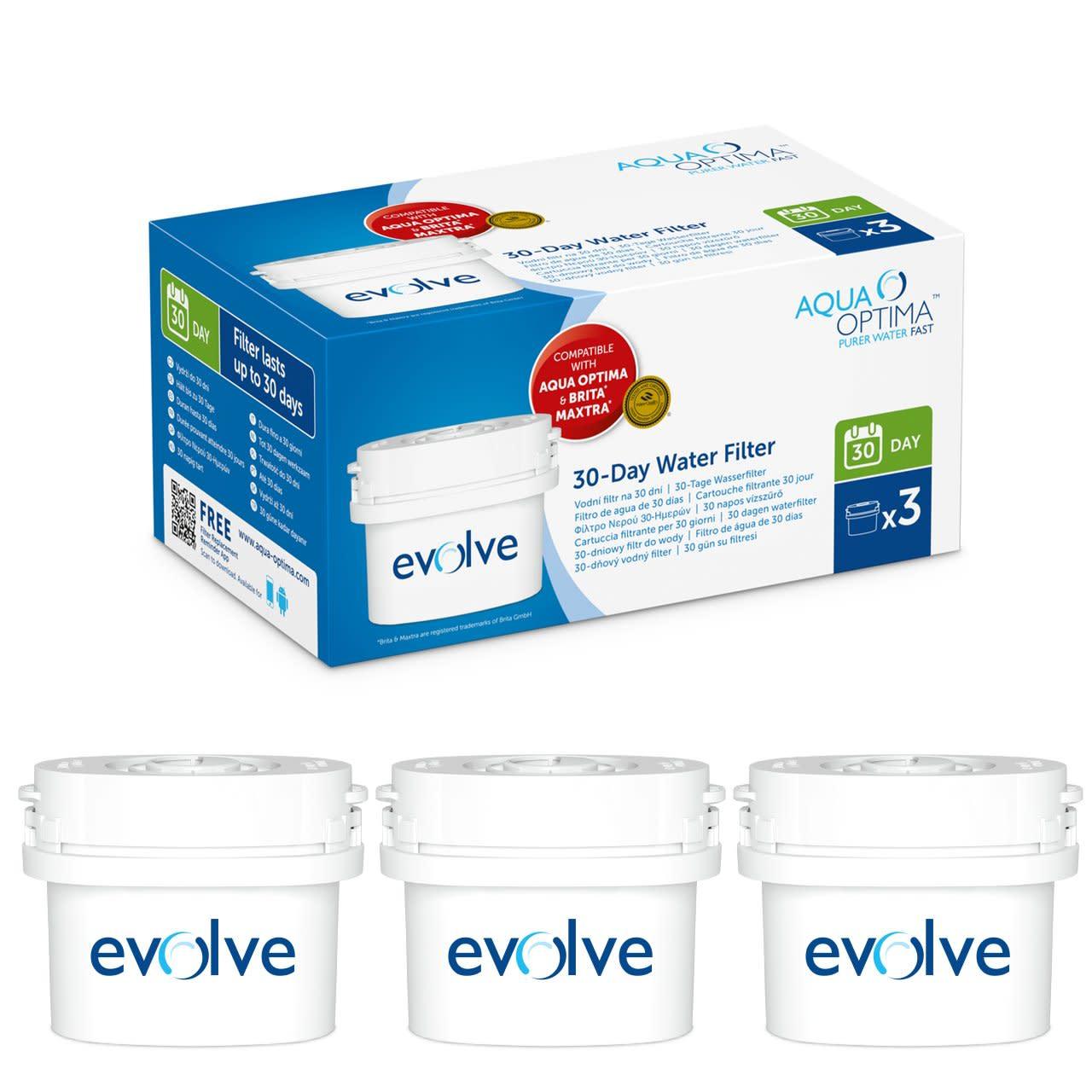 Aqua Optima Pack de 9+3 cartouches filtrantes Compatibles 12