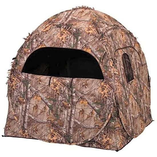 Hunting Doghouse Ground Blind Blind Realtree Tent Hunt Turkey Outdoors Hide Camo  sc 1 st  eBay & Hunting Doghouse Ground Blind Blind Realtree Tent Hunt Turkey ...