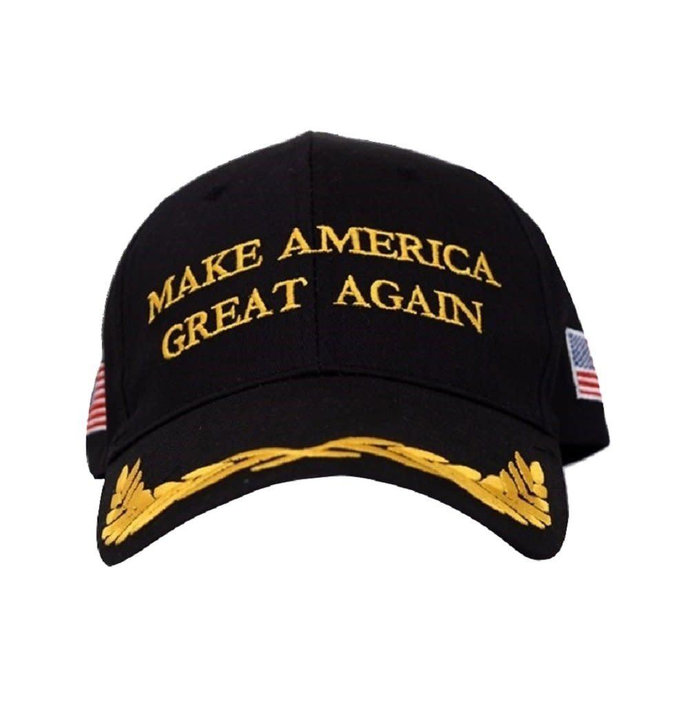 Make America Great Again Donald Trump Baseball Cap Hat (Black Flag Olive  Branch) fea16fe684f