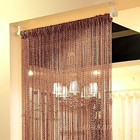 String Curtain Door Panel Hanging Window Doorway Wall Home Room Divider  Decor US