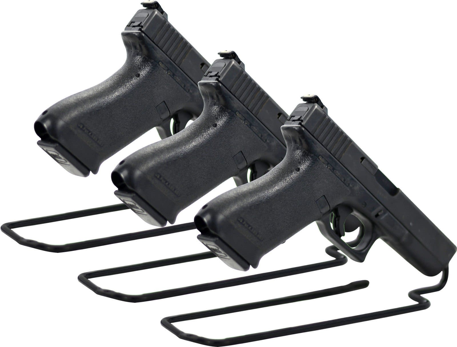 display stand pistol