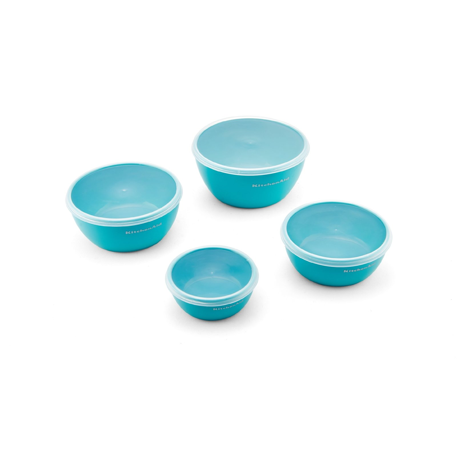 KitchenAid Prep Bowls (Set of 4), Aqua Sky 24131326938 | eBay