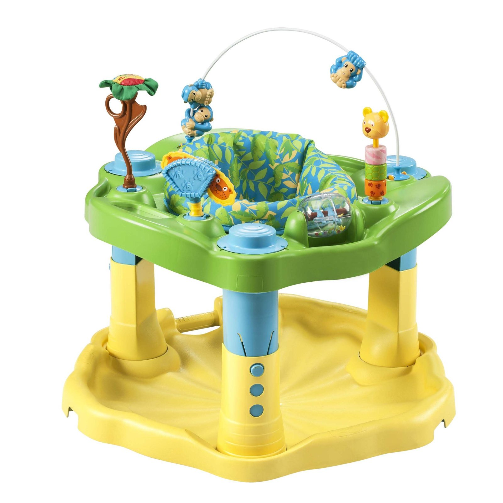 Baby Toddler ExerSaucer Activity Center Babies Learn Fun Toy  Gear Evenflo