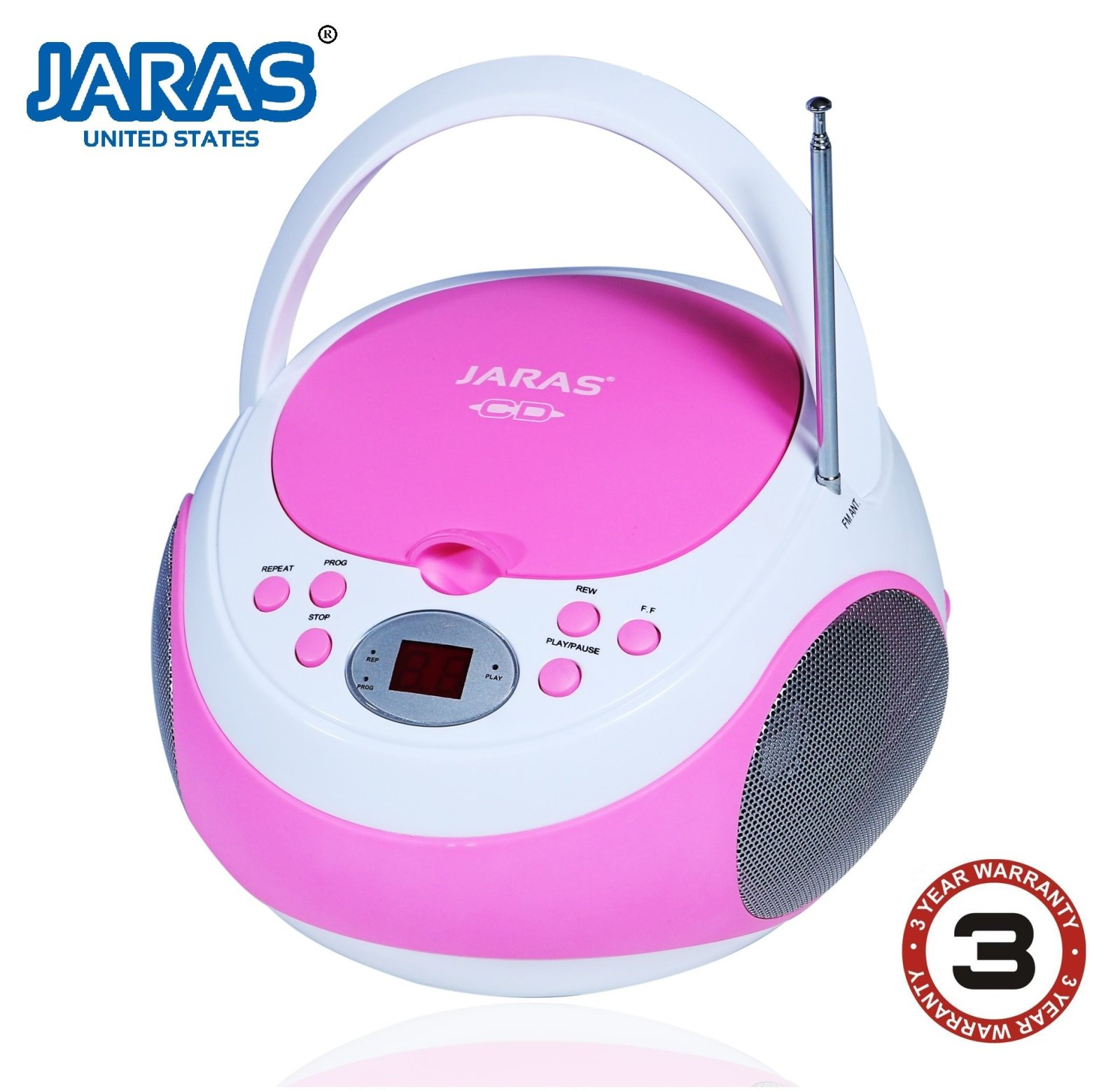 small portable cd player for kids pink little girl outdoor. Black Bedroom Furniture Sets. Home Design Ideas