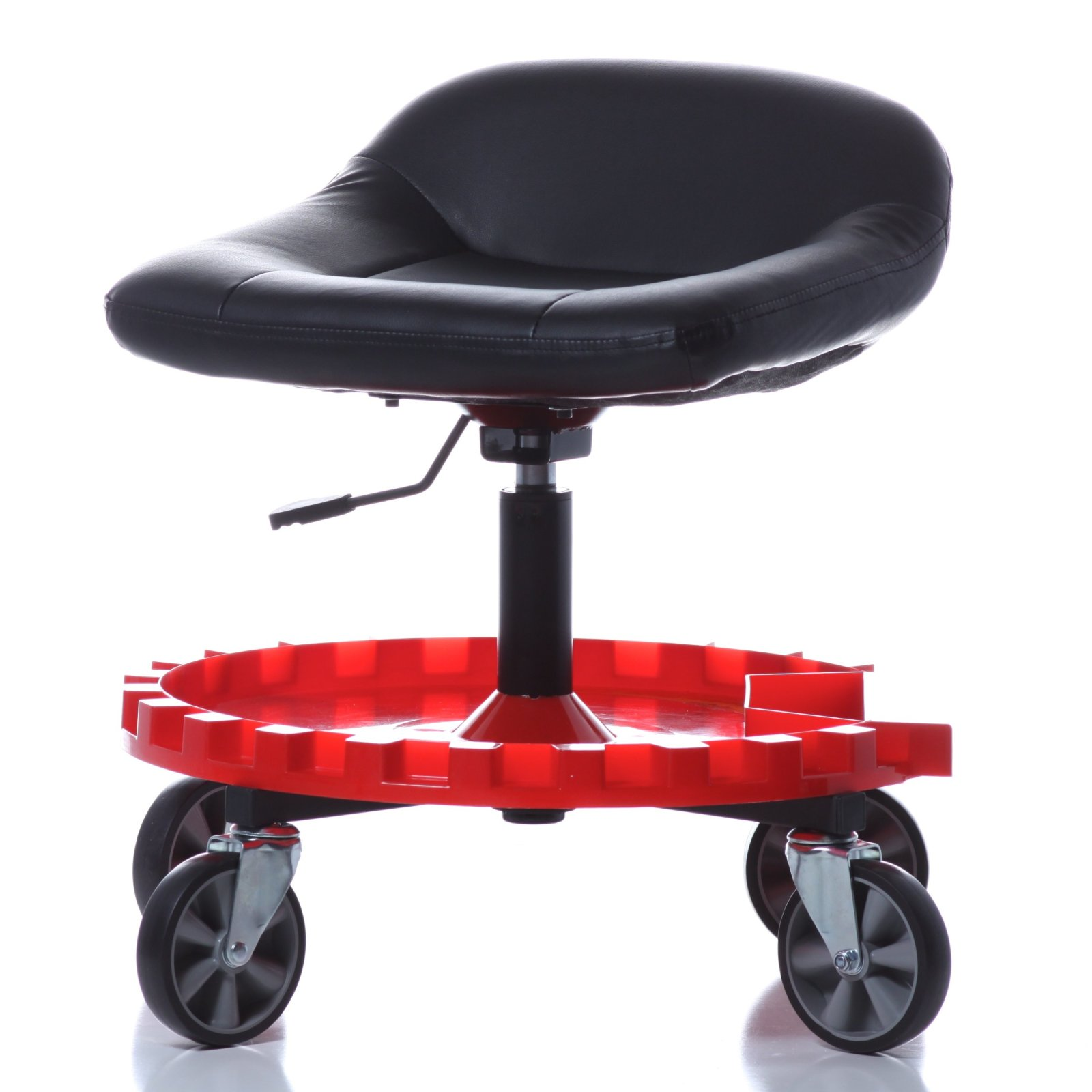 Mechanics Creeper Seat Rolling Work Stool Garage Chair Tool Tray Auto Shop  sc 1 st  eBay : rolling work stools - islam-shia.org