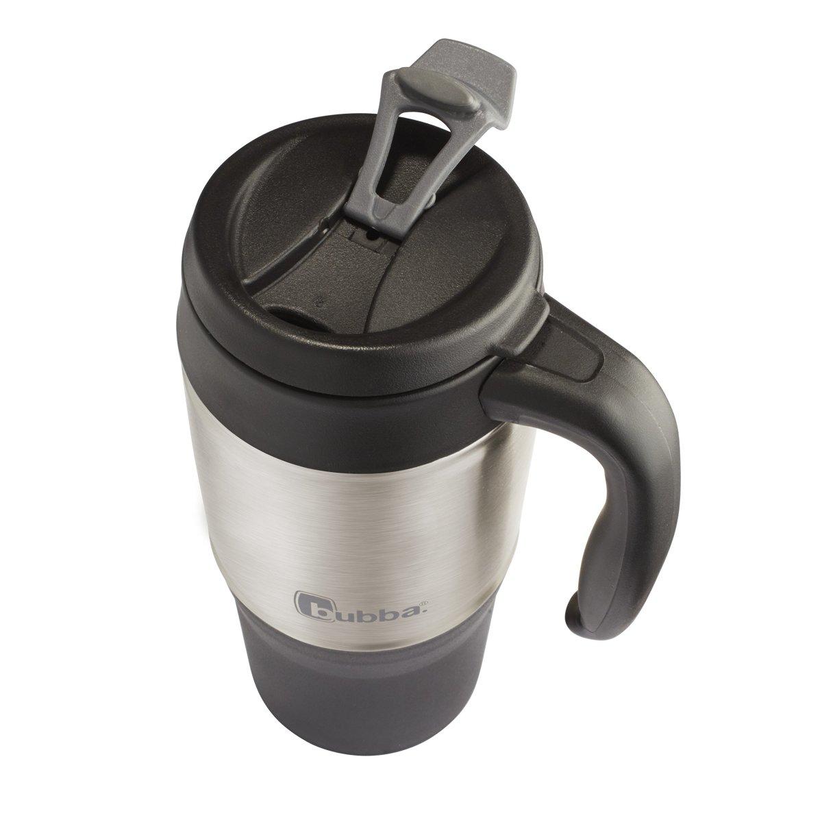Coffee travel mug stainless steel insulated 18 oz cup - Travel mug stainless steel interior ...