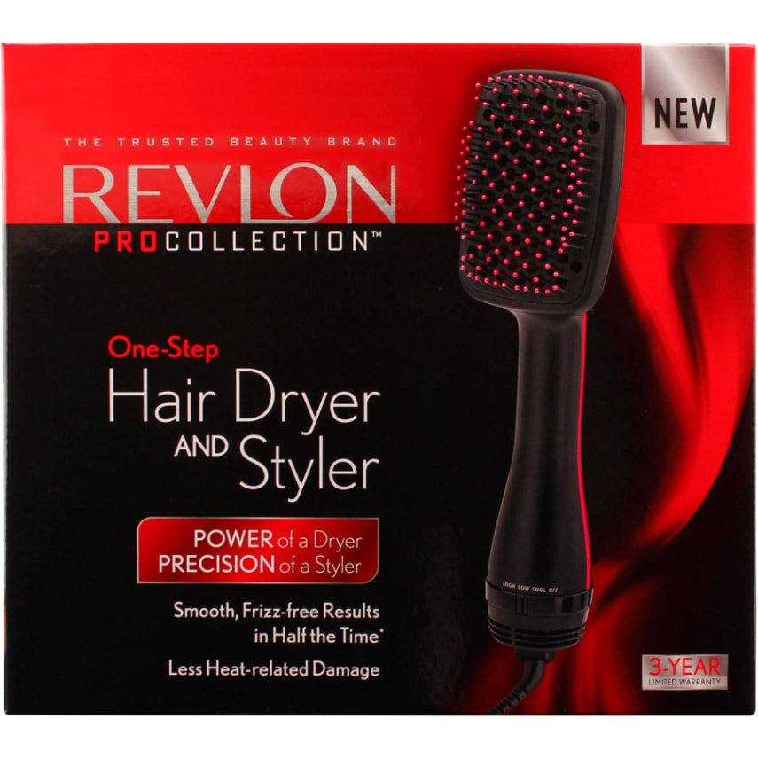 Hair Dryer Styler Revlon Pro Collection One Step Secador