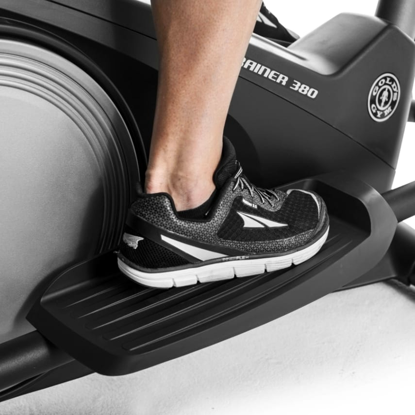 Gold S Gym Stride Trainer 380 Compact Elliptical Machine