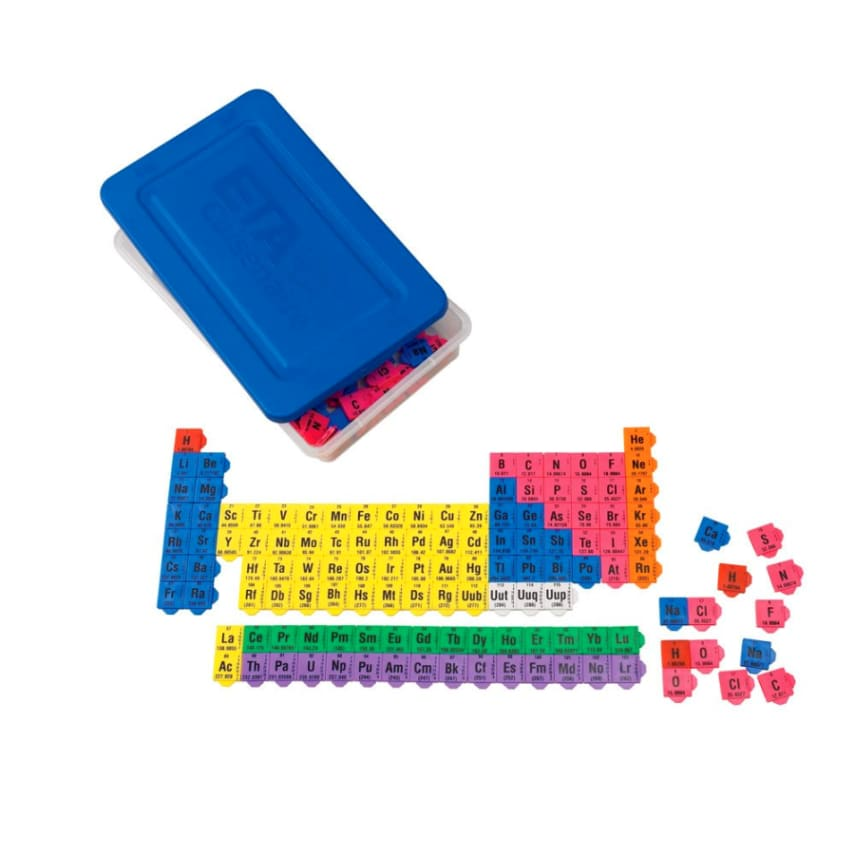 Periodic table building blocks connecting color tiles science periodic table building blocks connecting color tiles science educational toys urtaz Images