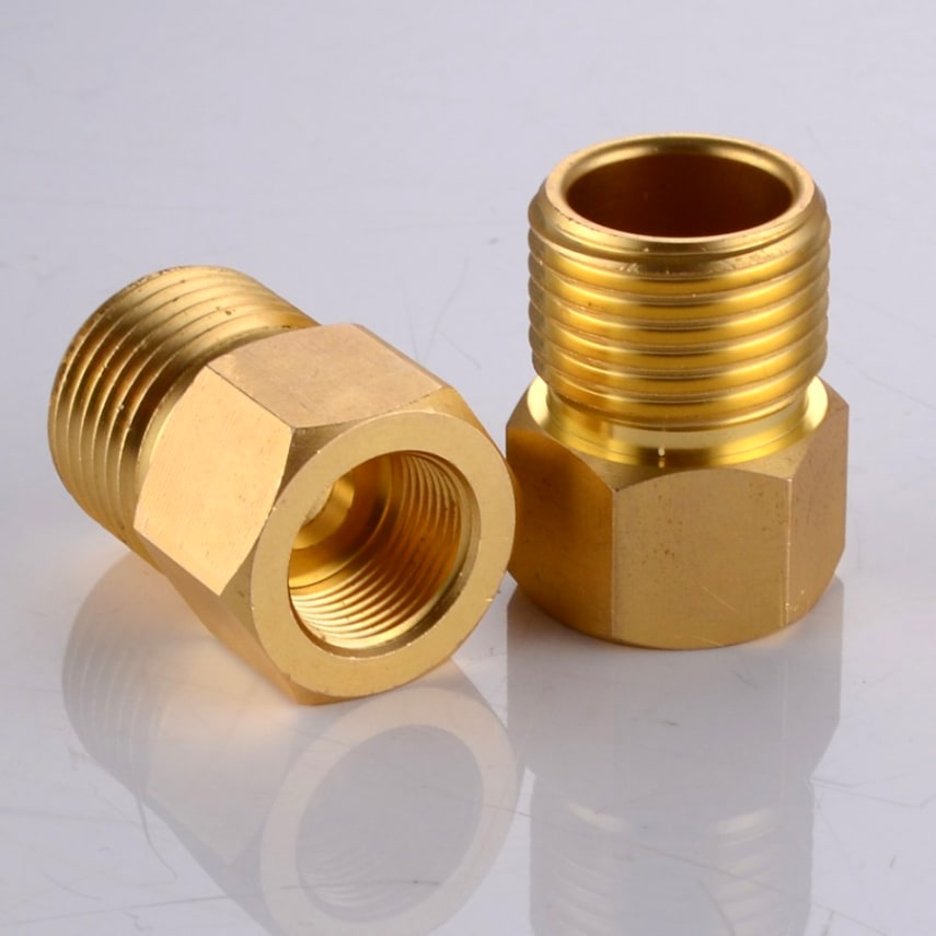 Europe Asian Faucet Supply Line Adapter 1/2\