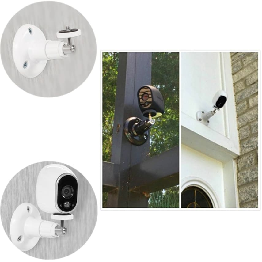 arlo pro security camera wall mount 2 pack ceiling white. Black Bedroom Furniture Sets. Home Design Ideas