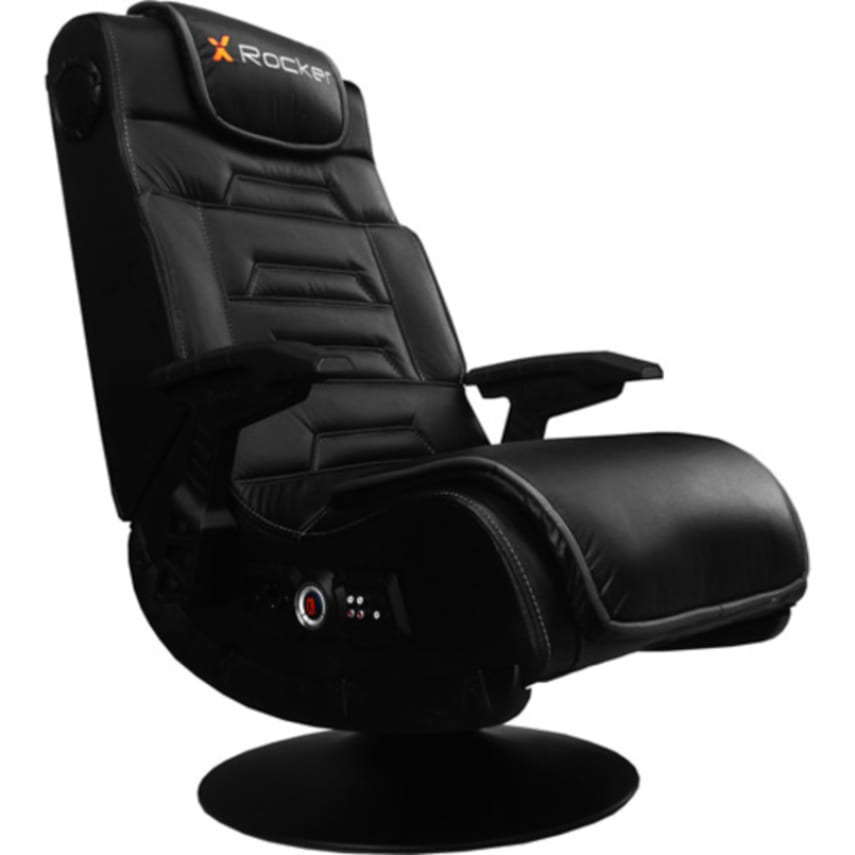 X Video Rocker Pro Series Wireless Audio Gaming Chair With Speakers