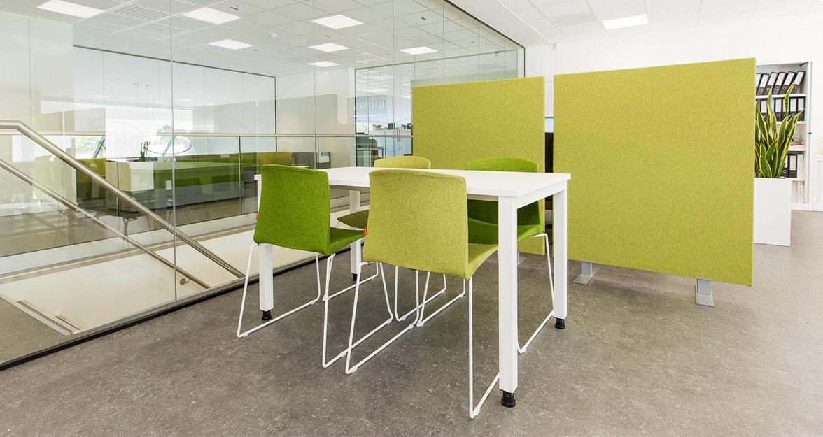 Groen tinten van stoelen
