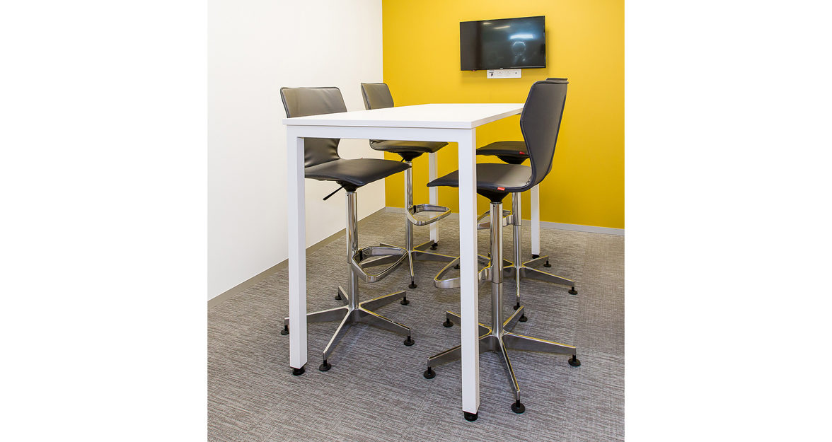 Omega bar stool