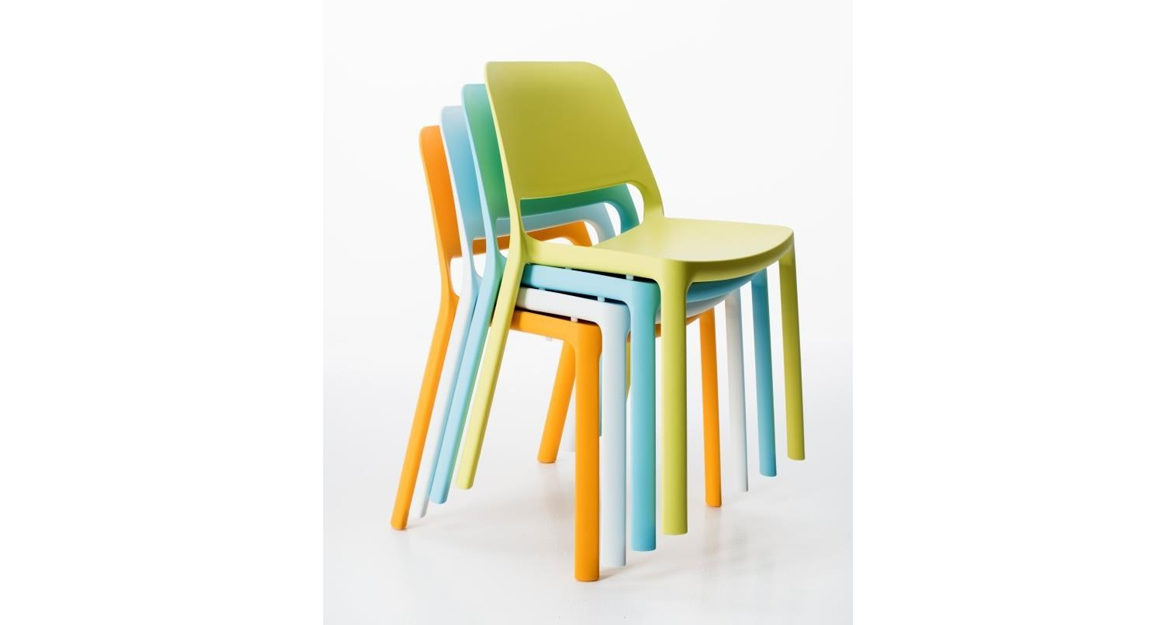 Stackable Johan chairs