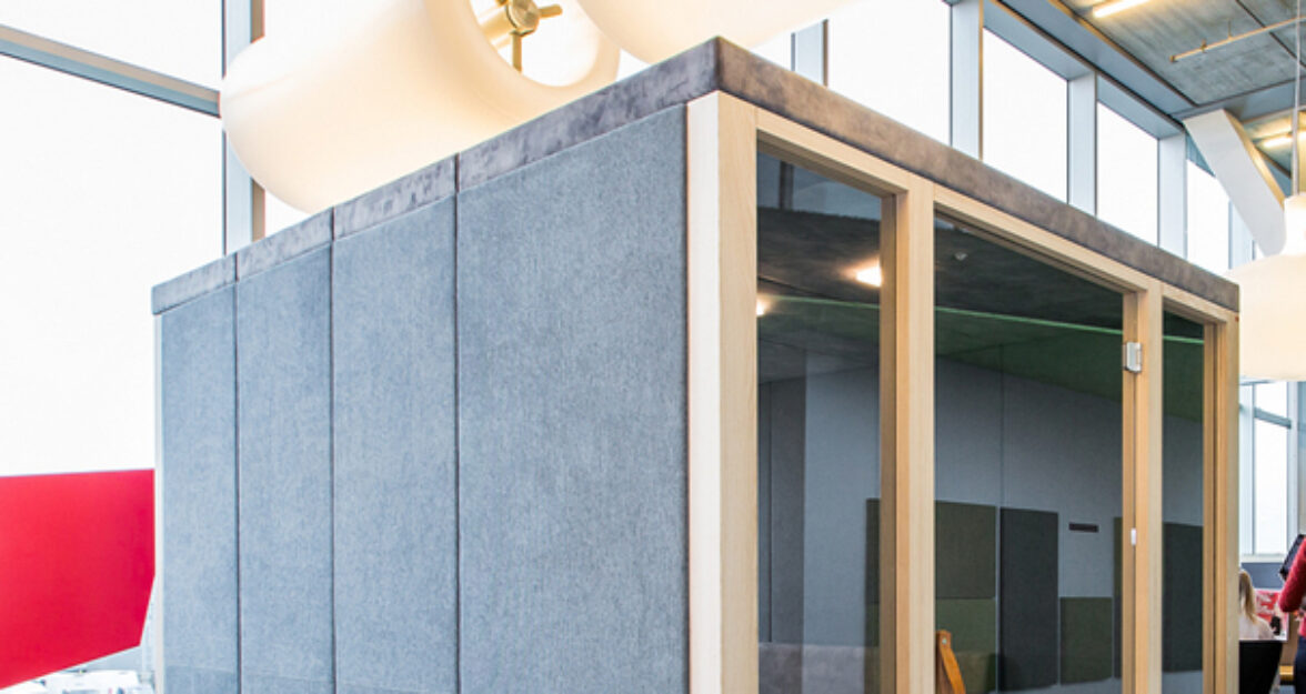 Ply Booth Maxi in showroom
