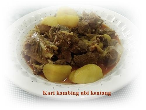 Kari kambing ubi kentang