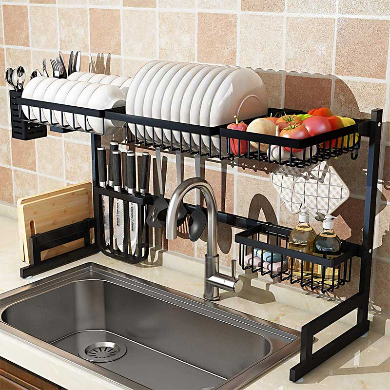 Above-Sink-Dish-Rack