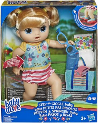 Alive Giggle Baby Doll