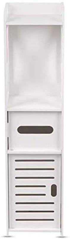 U-HOOME 4-Tier Bathroom Standing Shelf Storage Closet Organizer