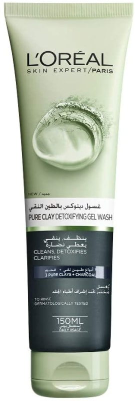 L'Oréal Paris Pure Clay Black Face Cleanser