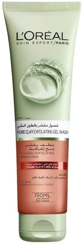 Pure Clay Exfoliating Gel Wash by L'Oreal Paris