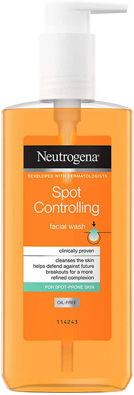 Neutrogena-Spot-Controlling-face-wash