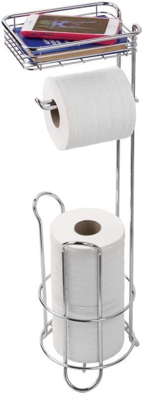 iDesign Zia Metal and Plastic Bathroom Squeegee