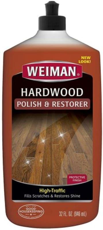 Hardwood polish and restorer