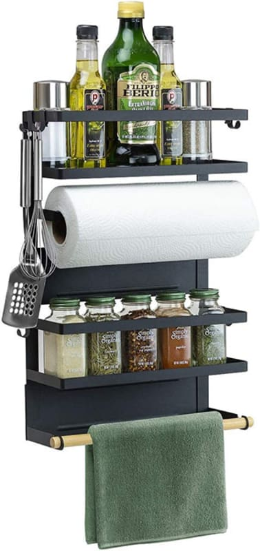 Magnetic-Kitchen-Organzier-Rack