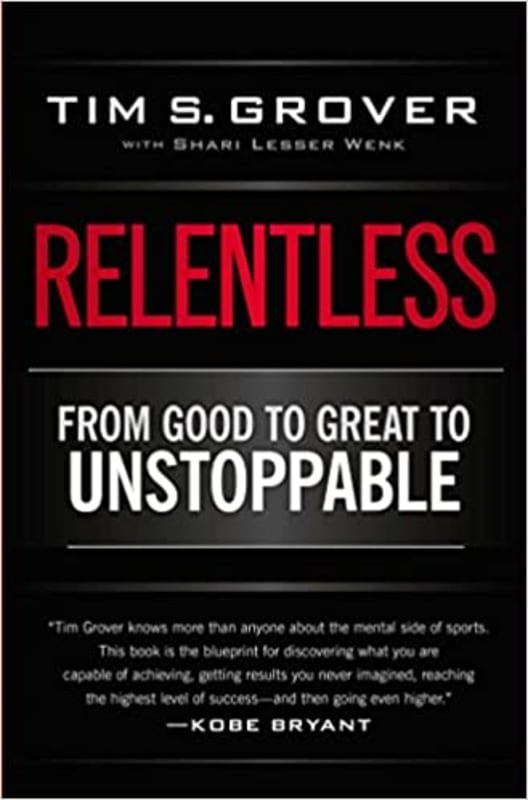 29. Relentless by Tim Grover