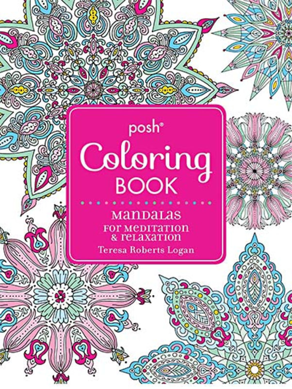 Posh-Adult-Coloring-Book--Mandalas-for-Meditation-&-Relaxation