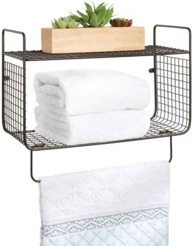 mDesign Classico Wallmount Shelf