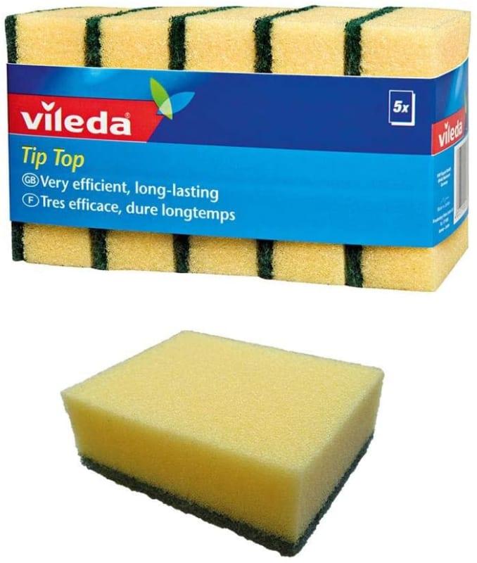 Vileda Dish Foam Sponge Scourer