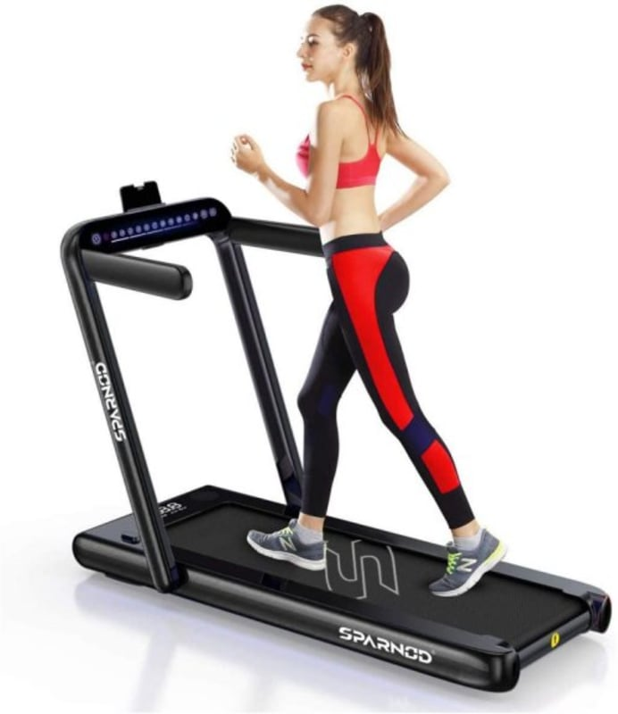 Sparnod Fitness STH-3000 Series 2 in 1 Foldable Treadmill