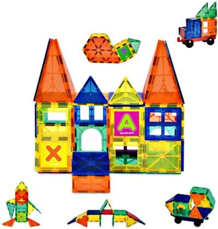 Innoo Tech 60 Pieces Large Magnetic Building Blocks edit