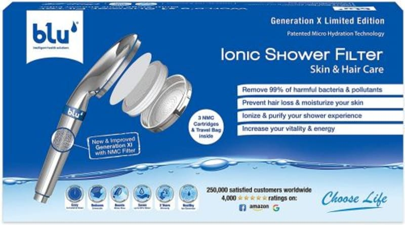 Ionic shower filter
